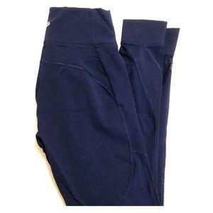 Lululemon Blue Mesh Leggings